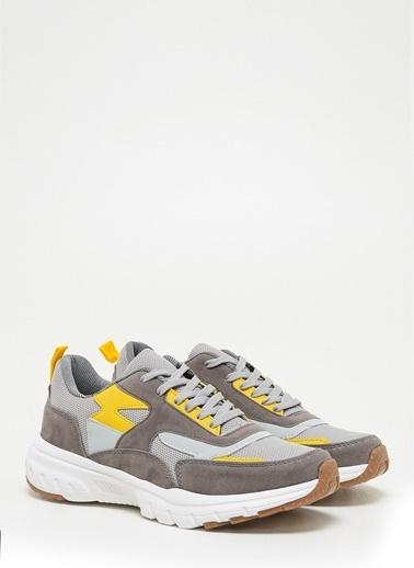 F By Fabrika Erkek Lacivert Sneakers DALLAS Krem